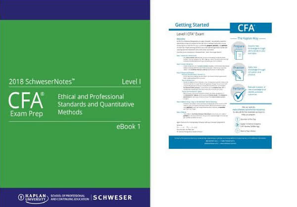 2018年 CFA 最新 Notes
