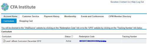 CFA官方教材电子版EBOOK下载步骤说明