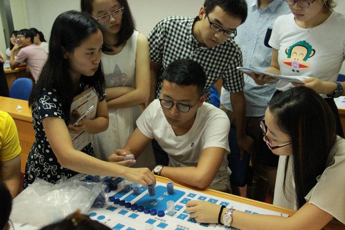上海财经大学CPA四大暑期夏令营-ERP沙盘模拟